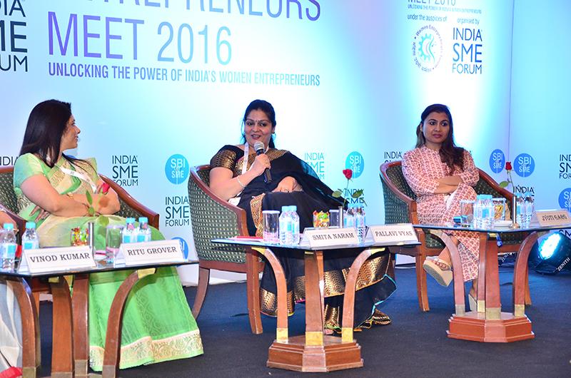 Ms. Pallav Vyas, Director, Shanta Farms sharing her business journey