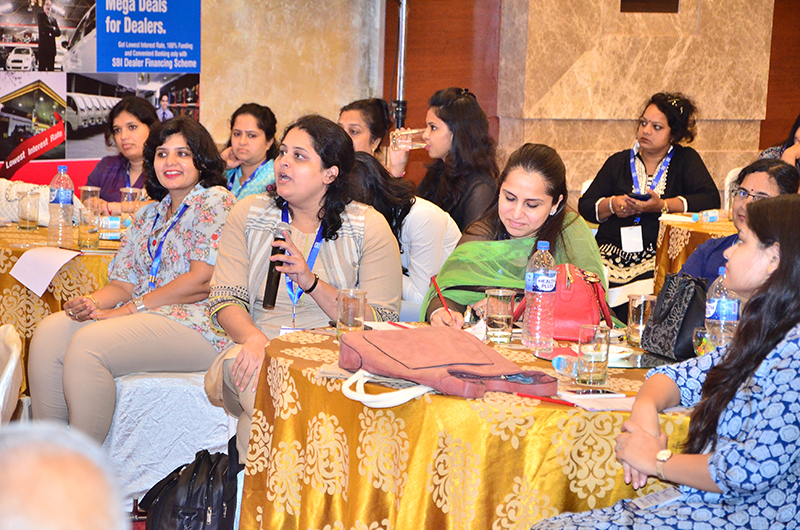 A question on funding to Mr. Rajnish Kumar, Managing Director,SBI by one of the Women Entrepreneurs