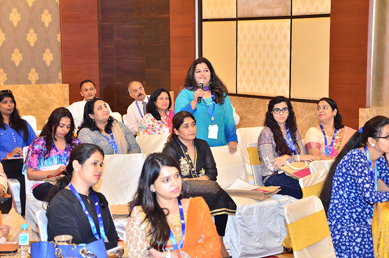 The Entrepreneur sharing her views with the attendees