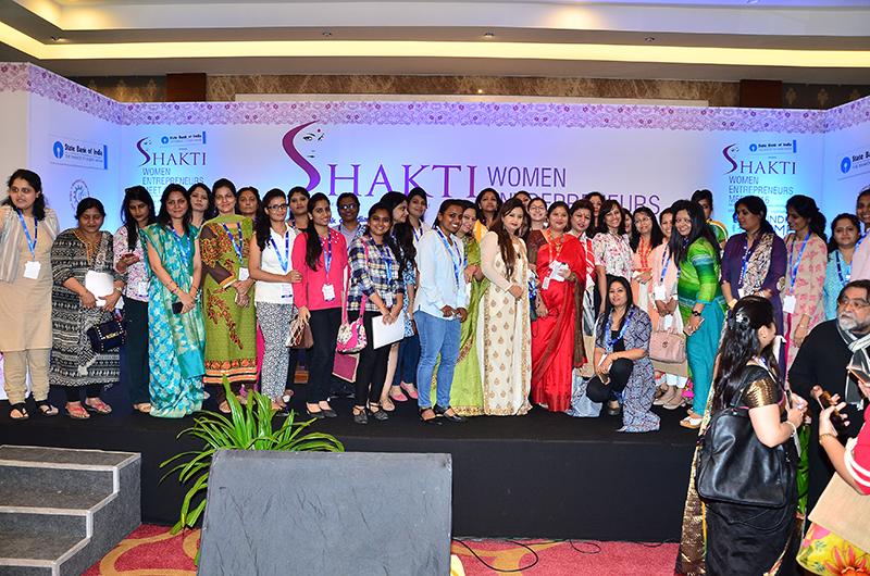 Photo Op at the Shakti Women Enntrepreneurs Mee