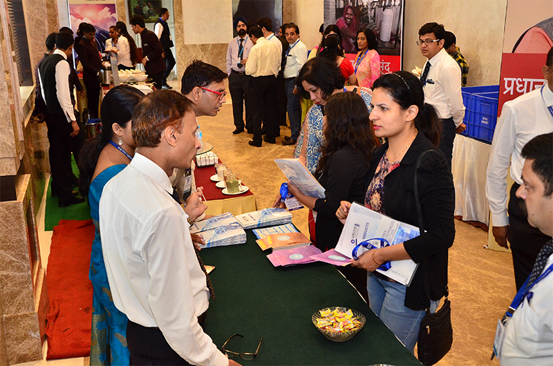 Networking at the State Bank of India space