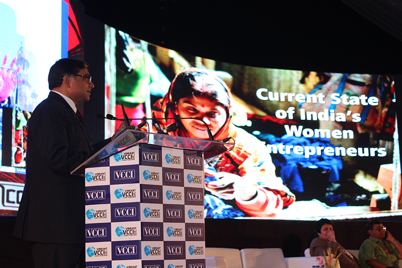 Mr. Vinod Kumar, President,ISF sharing his insights with the Women Entrepreneurs