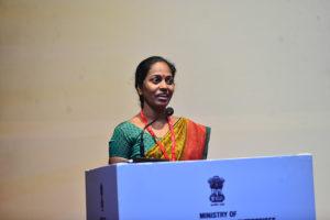 Smt. Supriya Nadankar, Jijabai Mahila Utpadak Bachat Gat sharing her success story