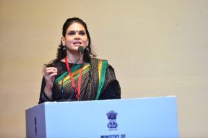 Smt. Rashmi Sawant, Cultural Aangan sharing her success story