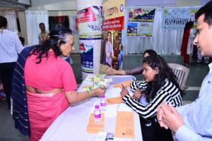 Networking at Allahabad Bank Display Space