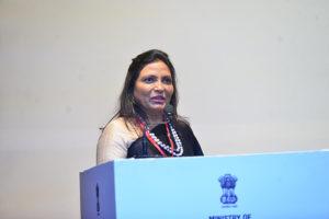 Smt. Kalpana Saroj, Chairperson, Kamani Tubes Ltd. sharing her success story